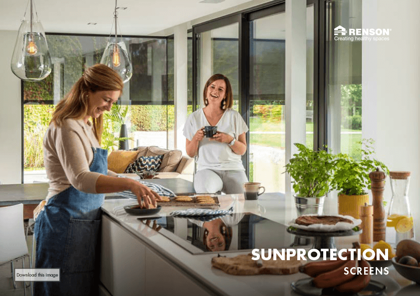Fotoboek Sunprotection screens